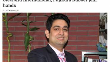 Steelbird International, Fujikura Rubber join hands