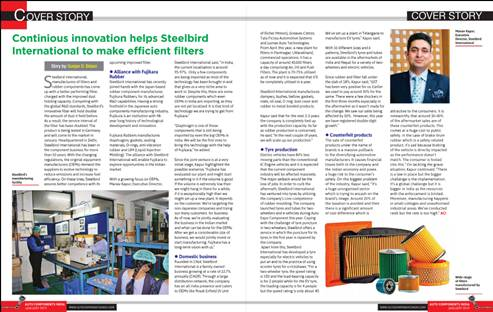 Continious Innovation Helps Steelbird International To Make Efficient Filters
