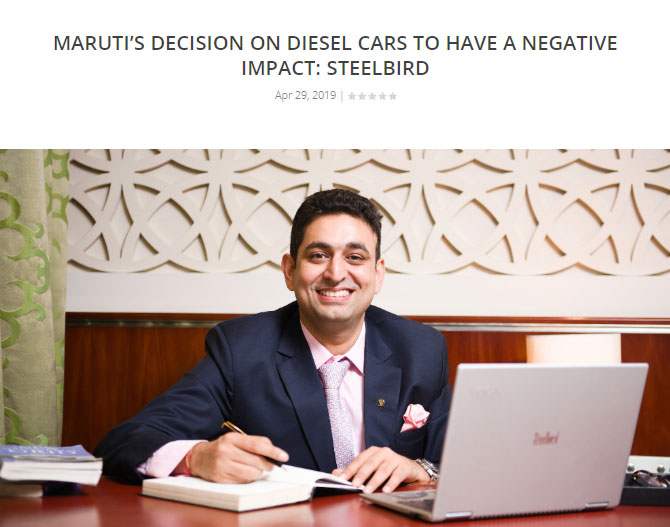 Maruti's Decision On Diesel Cars To Have A Negative Impact: Steelbird